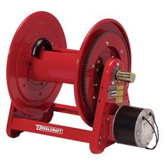 Reelcraft Electric Motor Driven Hose Reel - 12 Volt DC, 3/4in. x 175ft. Hose Capacity, Model EA33118L 12D ** You can find out more details at the link of the image.