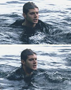 """Jensen Ackles as Dean Winchester - Supernatural - 1x03 """"Dead in the Water"""""""