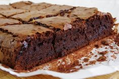 Brownie podľa Jamieho Olivera Brownies, Desserts, Food, Cake Brownies, Tailgate Desserts, Deserts, Essen, Postres, Meals