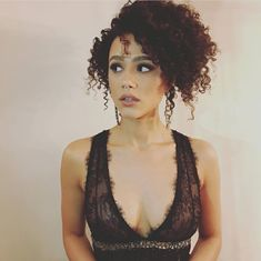 Happy Birthday Nathalie Emmanuel (Actress-Hollyoaks,Furious Runner: The Scorch Trials,The Fate of the Furious, Game of Thrones,Maze Runner: The Death Cure) Beautiful Celebrities, Beautiful Actresses, Gorgeous Women, Beautiful People, Curly Hair Styles, Natural Hair Styles, Art Visage, Nathalie Emmanuel, Meagan Good