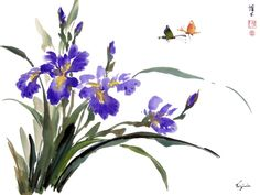 Virginia Lloyd-Davies - Online Chinese brush painting Gallery