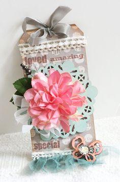 flower tag by Maya Road