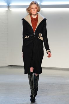 Is this a bomber trench?  Want.  Rodarte