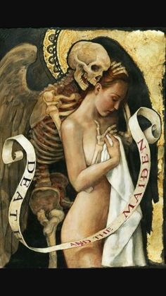 Necrophilia is disgusting. This painting is not.