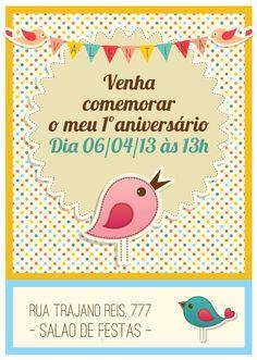 Festa Tema passarinhos