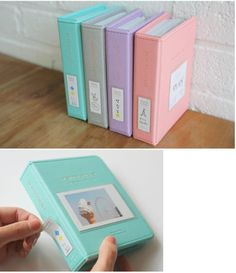Instax album for Polaroid 300 film. Kinda goes with the fujimax mini camera, it's just a little Polaroid scrapbook that I find neat. This would be awesome for Fuji film pics. Instax Mini Ideas, Instax Mini Album, Instax Mini Camera, Fujifilm Instax Mini 8, Fuji Instax, Polaroid Mini 8, Instax Mini 7s, Polaroid Pictures, Polaroids