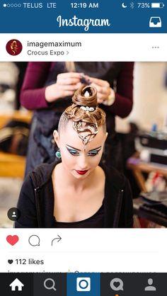 Ballroom competition hair #myballroomboutique