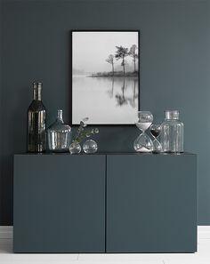 Stilrena svartvita prints