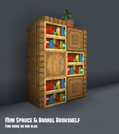 Minecraft Blocks, Easy Minecraft Houses, Minecraft House Tutorials, Minecraft Room, Minecraft Construction, Amazing Minecraft, Minecraft Tutorial, Minecraft Blueprints, Minecraft Creations