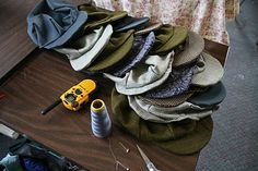 smilesfrommel: how to make a newsboy cap