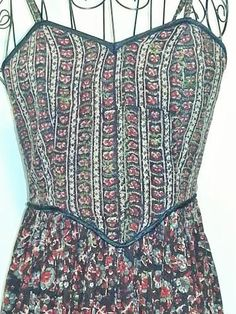 Beautiful Indian Cotton Sundress. Made in the by ParrotMoon