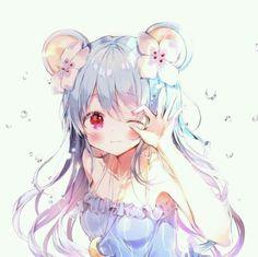 Anime girl cute  :3 Bấm theo dõi mình đi cm  móa