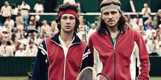 Borg/McEnroe is a new film that looks at the 1980 Wimbledon final match between tennis stars Björn Borg and John McEnroe. Björn Borg and John McEnroe met [. Shia Labeouf, New Trailers, Movie Trailers, Hollywood Stars, Cool Attitude, Critique Cinema, Night Film, Isadora Duncan, Toronto Film Festival