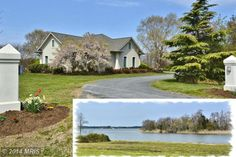 Wonderful single story living with Waterfront and Acreage For Sale on Kent Island, MD.