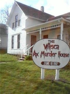 haunted places in iowa with pictures | very haunted house that my sister & friends went to in Villisca, Ia