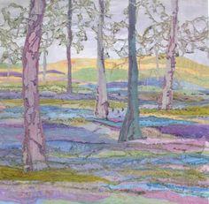 Bluebell Woodland http://www.judithreece.com/gallery.html