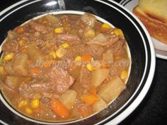 Beef Stew - This was one of the first Crock-Pot recipes I ever made. I haven't changed it much over the past 30 years either. If it's not broke don't fix it.