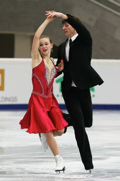 Siobhan Heekin-Canedy and Dmitry Dun of Ukraine Ice Dance Short Rostelecom Cup 2013,  Ice Dance Costume inspiration for Sk8 Gr8 Designs.