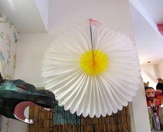 Grande fleur papier Daisy - Kitsch Kitchen, La Sardine à Paillettes - La Sardine à Paillettes
