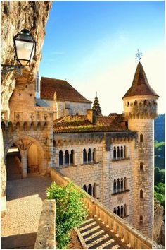 FunStocki: Medieval Castle, Rocamadour, France