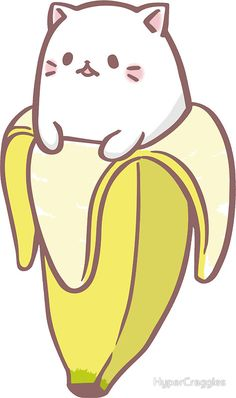 Small Bananya - Sticker size