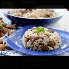 Bademli Pilav Grains, Rice, Food, Meal, Eten, Meals, Jim Rice, Korn, Brass