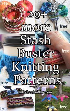 More Stash Buster Knitting Patterns