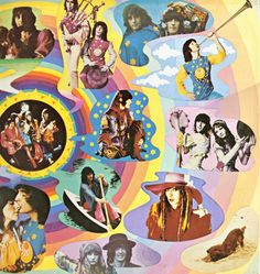 Collage of the Fool,he did work at Apple,work with The Beatles. Hippie Culture, Pop Culture, Mundo Hippie, Happy Hippie, Hippie Art, Vinyl Cover, Retro Aesthetic, Psychedelic Art, Conte