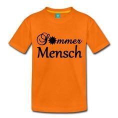 Sommermensch - sonnige Shirts und Geschenke für alle, die den Sommer lieben.