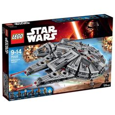 LEGO STAR WARS: MILLENNIUM FALCON™ (75105) PRICE: 194$ US Contact Us For Shipping Rates: https://www.facebook.com/TheLEGOShop/