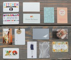 The Business Cards of Alt Summit2013  - Creature Comforts