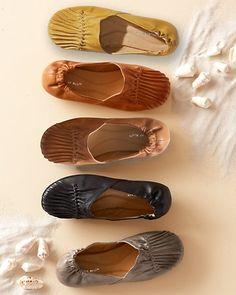 Love these! Chocolat Blu Cam Leather Flats