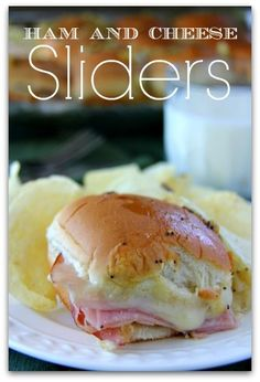 Best ham and cheese sliders with onion and a flavorful tangy sauce. Perfect for a crowd, as a main dish, or as a snack. Bakerette.com