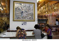 Aparecida Brazil Sao Paulo State Basilica Of The National Shrine Of Our Lady Of Aparecida - Stock Image