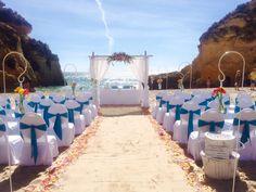Alvor beach ceremony wedding. Algarve beach wedding. www.algarveweddingsbyrebecca.com