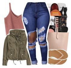 """""""Read d """" by pinksemia ❤ liked on Polyvore featuring H&M, Armani Exchange and Rochas"""