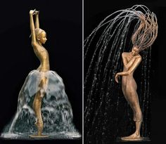 Malgorzata Chodakowska | Water statues