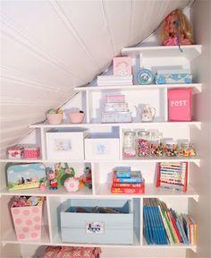 Barbros lille atelier: barnerom