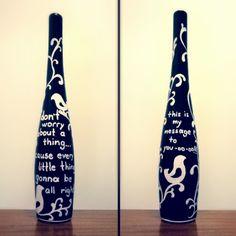 garrafa caneta posca