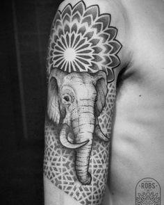 Sacred Elephant, thank you Federico #ink #tattoo #dotwork #dotworktattoo #dotworkers #mandala #mandalatattoo #mandaladesign #geometrictattoo #sacredgeometry #blackink #blackwork #blackworkers...