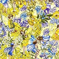 """Cotton Fabric Alexander Henry /""""Sweet Blossom/"""" Colorful Flowers allover"""