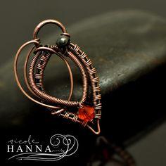 Layered Leaf Pendant Tutorial by Nicole Hanna | JewelryLessons.com