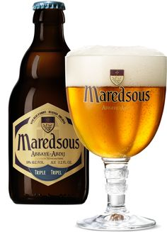 Maredsous Tripel, Brewery Moortgat 10% 7/10 hoppy beer
