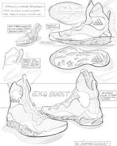 Sketch I did to get into the#pensole x #adidas program last month. Super cray 2 weeks, but I'm definitely grateful  to have gone through it!! ✏ think I'll post some zoomed in views as well..#sketching #industrialdesign #footweardesign #idsketching #sketchaday #conceptkicks #footwearsketch #designsketching #footwear #sketchbook