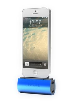 Flex Pocket Charger for iPhone 5, 5S, 5C & iPod - Blue by PhoneSuit iPhone 4S, 5C, 5S Chargers on @HauteLook