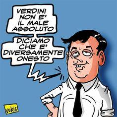 La Creatività del Premier #IoSeguoItalianComics #Satira #Politica #Renzi #Verdini