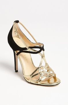 Ivanka Trump 'Herly' Sandal. So pretty. Would love a fancy place to go with these on my feet. Maybe Dancing with the Stars?!?  :)