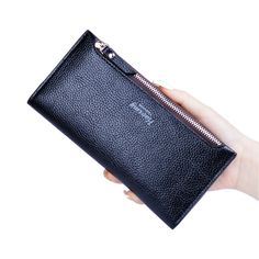 Women Wallets With Zipper Pocket High Quality PU Leather Fashion Purses With Zip Coin Female Long Clutch Bag Card Holder Purses