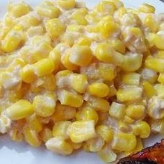 Slow Cooker Creamed Corn - I have made this dish for many different pot-lucks and people always ask for the recipe. This is so easy to prepare the night before and take with you. It is creamy and tastes wonderful. I highly recommend this to anyone that is short on time