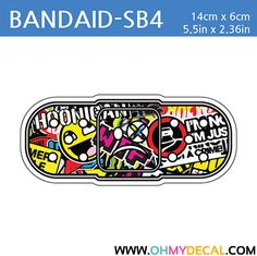 [ Bandaid - SB4 ] STICKER BOMB SERIES